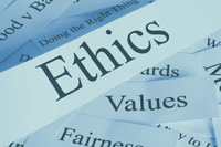 Ethics Word